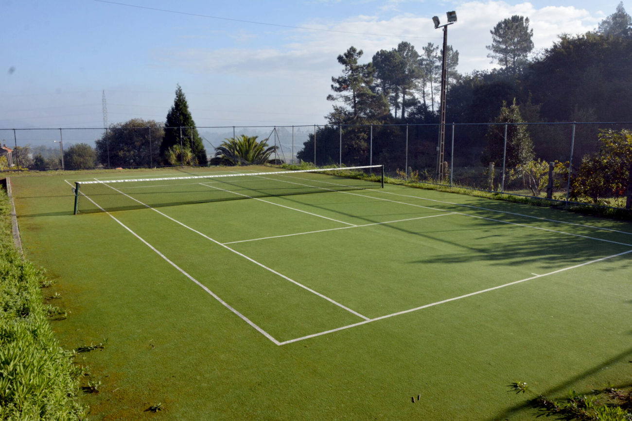 Pista de tenis de Oín