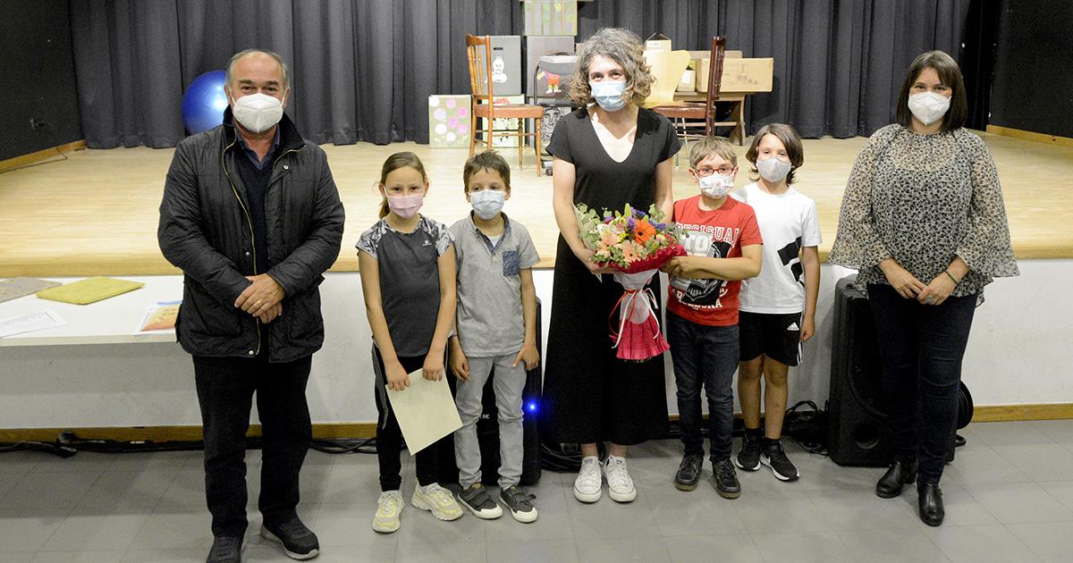 Éxito do grupo infantil de Teatro Vacalouras coa estrea da obra 'E agora que?'