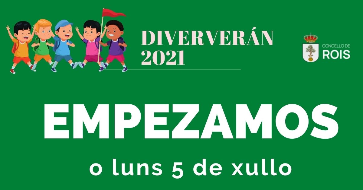 Diververán 2021. Cartel anunciador