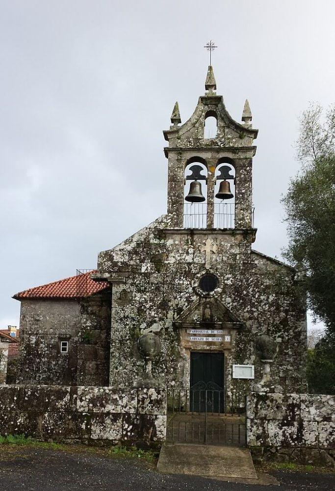 Igrexa parroquial de Seira no concello coruñés de Rois. Xosé Antonio - Wikipedia