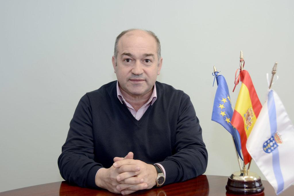 Ramón Tojo Lens. Alcalde do Concello de Rois