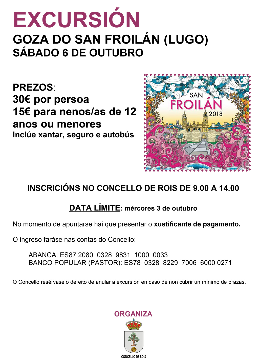 20180927 Excursion San Froilan