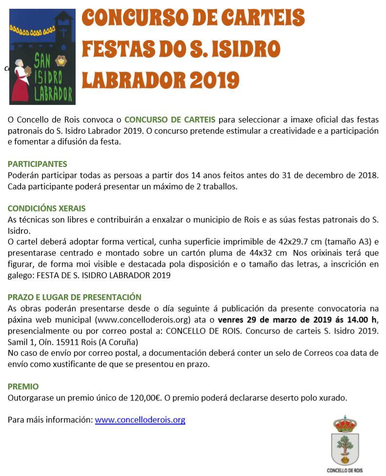 20190215 Cartel San Isidro