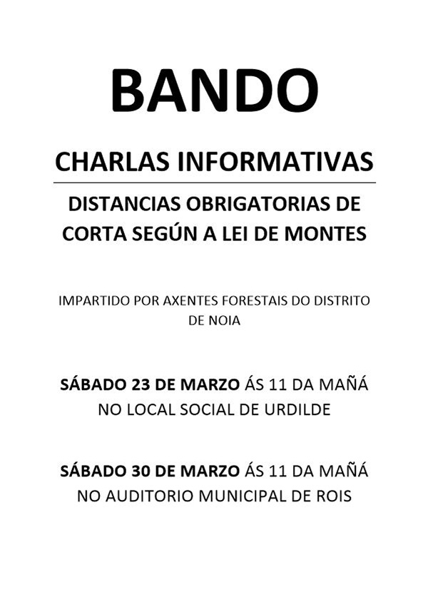 20190322 Cartel Bando Charlas Informativas Distancias Montes